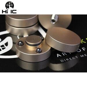Image 1 - 4 PCS HIFI Audio Lautsprecher Verstärker Keramik perlen Stahl perlen Anti stoßdämpfer Fuß Pad Füße Basis Vibration Absorption stehen