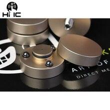 4 adet HIFI hoparlörler amplifikatör seramik boncuk çelik boncuklar Anti amortisör ayak ped ayak taban titreşim emme standı