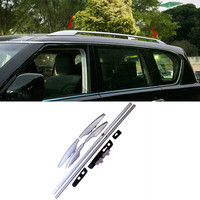 For Nissan Patrol Y62 2010 2018 Roof Rails Rack Bar Luggage Carrier Bars A Set Car Styling Accessories