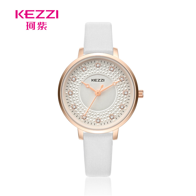 Fashion Design Women Watches KEZZI Brand Wrist Leisure simple Trendy Rhinestone Quartz Wristwatch K1735 ...