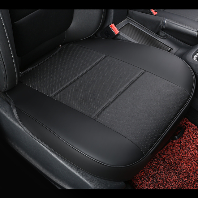 universal pu leather car seat pad, auto seat cushions, non slide car seat cushion, car accessories seat covers for toyota camry