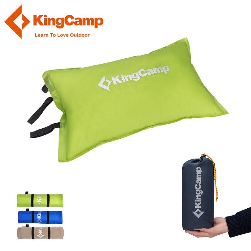 KingCamp Camping Oreiller Portable Autogonflant Oreiller pour Camping Ultra-léger En Plein Air Voyager Oreillers pour la Randonnée Trekking