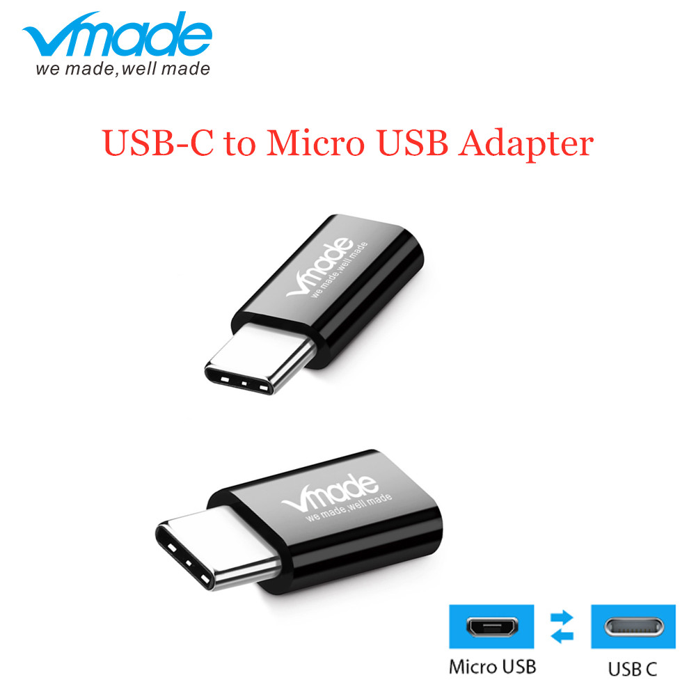 Vmade Mini Converter Type C USB C to Micro USB Converter for Xiaomi Huawei P20 Lite Honor 10 Mate 20 Pro OnePlus 6T Mini Adapter-in USB Hubs from Computer & Office