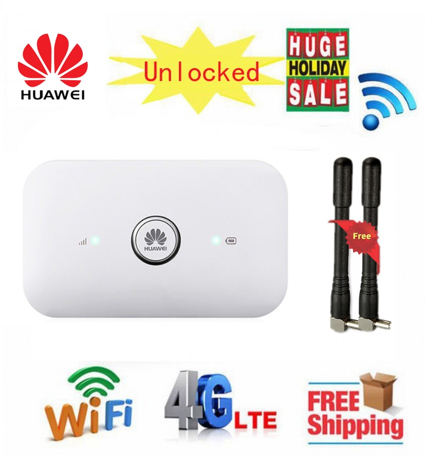 Unlocked HUAWEI E5573s-856 e5573  Dongle 4G Mobile WiFi Router LTE Cat4 150Mbps Paired with a pair of 4G antennasUnlocked HUAWEI E5573s-856 e5573  Dongle 4G Mobile WiFi Router LTE Cat4 150Mbps Paired with a pair of 4G antennas