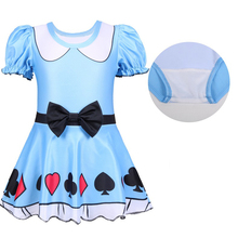 Summer Girl Dress bathing suit Christmas Halloween Party  cartoon clothing Cosplay Costume swimsuit 0396