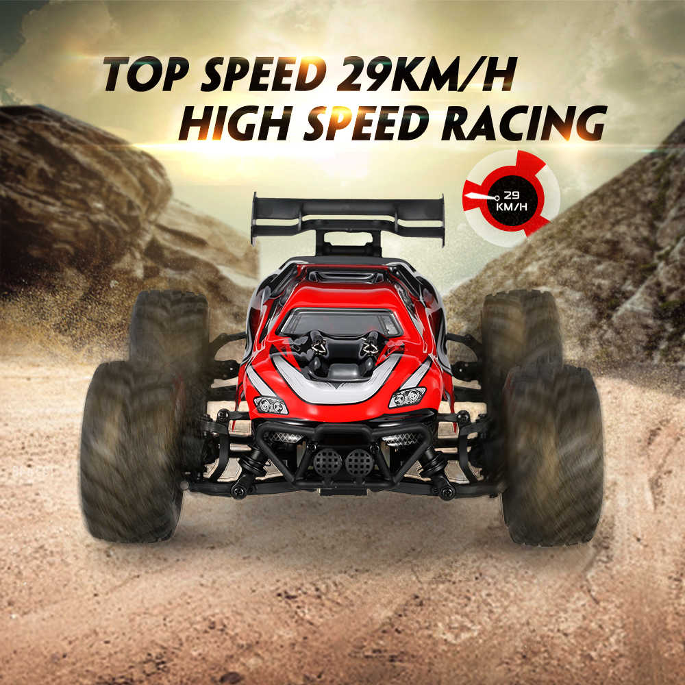 1/18 18858 2.4GHz 4WD High Speed Electric Car Off-road RC Buggy Racing Truggy Truck RTR RC Car Model Vehicle Toy