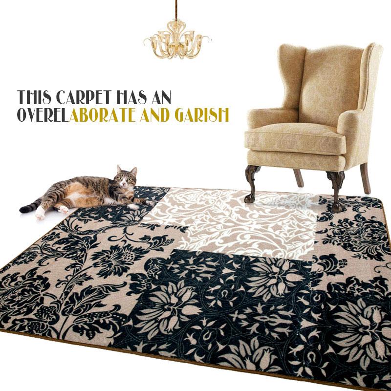 120X170cm Fashion EuropeanTurkey Carpet Large Floor Rugs Mats and Carpets Modern Anti-skid Carpets For Living Room Bedroom