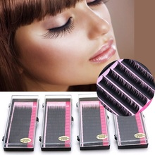 Faux Mink Individual Blink Eyelashes Makeup Soft Lashes for Eyelash Extension 0.07mm 0.1 C D Curl maquiagem cilios