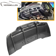 C class W205 C63 PSM Style Carbon Fiber Car Rear Bumper Lip Diffuser for Mercedes Benz 2door&4 door