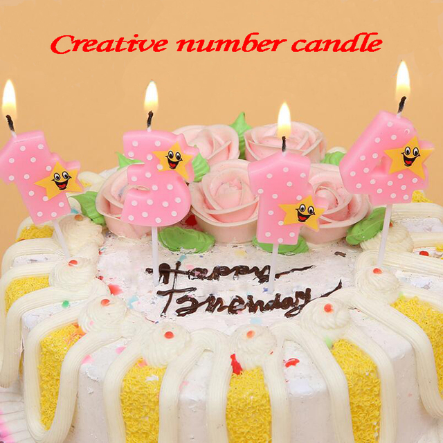 Number Birthday Candles 1 2 3 4 5 6 7 8 9 0 Kids Adult
