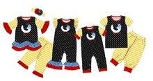 Baby Boy Girl Easter Polka Dot Romper Bodysuit