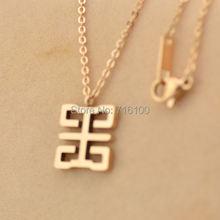 Двойное китайское счастливое ожерелье
