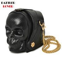 3D Skulls Handbags Women Bags Luxury Designer Handbag Women Brand Shoulder Messenger Bags Female Crossbody Bags Bolsas Feminina