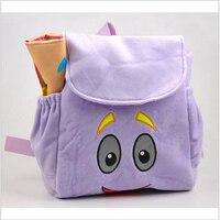 Анимация мультфильм дети ранцы Рюкзаки Дора детские небольшие подарки рюкзаки плюшевые мультфильм Дошкольного Сумки Малышей