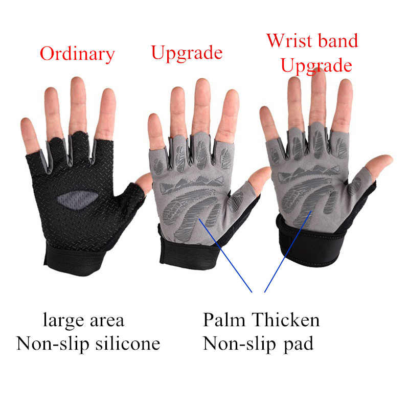 Details about  /Fitness Gloves Gym Weightlifting Yoga Bodybuilding Instrument Training Non-slip