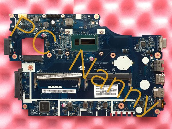 NBMFM11007 V5WE2 LA-9532P For Acer E1-572 SR170 Intel i5 4200U HM87 Laptop Motherboard with good quality