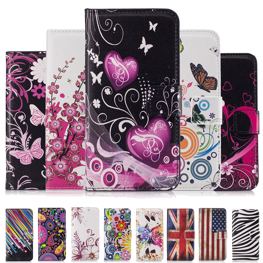 Colorful Wallet Leather Case For Samsung Galaxy Trend Plus ...