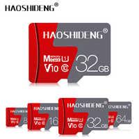 Carte mémoire haute vitesse 16GB 32GB carte micro sd 64GB 128GB carte flash cartao de mémoire mini carte tf livraison gratuite adaptateur cadeau