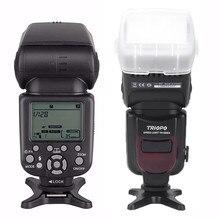 Triopo TR-586EX ttl Беспроводная Вспышка Скорость lite фото для Nikon Canon EOS 450D 60D 80D камера скоростной светильник как YONGNUO YN-568EX II