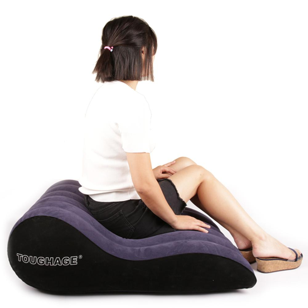 Canapé gonflable meubles lit chaises jouets alternatifs multi-fonctionnels Couples sexe Bondage adulte g-spot Love Pad - 2