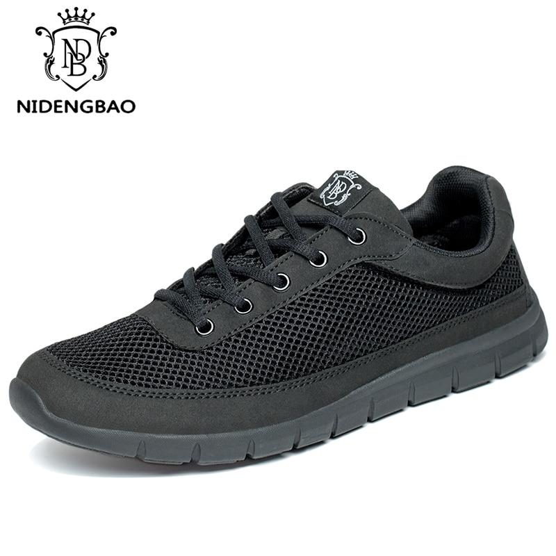 Fashion Shoes Men Big Size 49 50 Breathable Podsachek Full Mesh Man Casual Shoes For Men Light Mans Footwear Adult Male Shoes