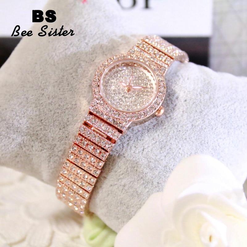Fashion Women Watches High-end BS Luxury Brand Full Rhinestone Jewelry Watch B2B B2C Wristwatch Factory Direct Selling