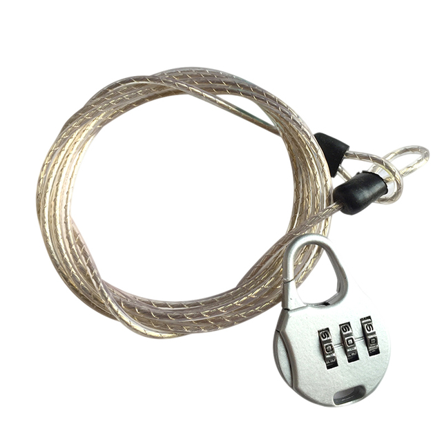 Anti-theft Password Lock Steel Cable Luggage Security Protector Bike Chain Locks Backpack Padlock YS-BUY