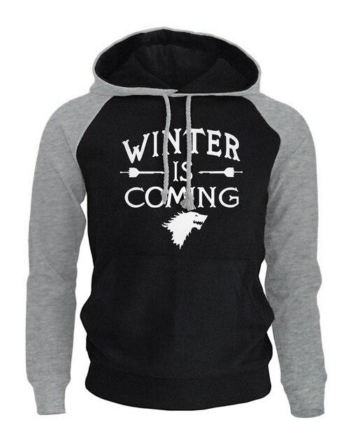 """Winter is Coming"" Raglan Sweatshirts  3"