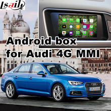 Android GPS navigation box video interface for 2017 Audi A4 etc (4G MMI system) with cast screen
