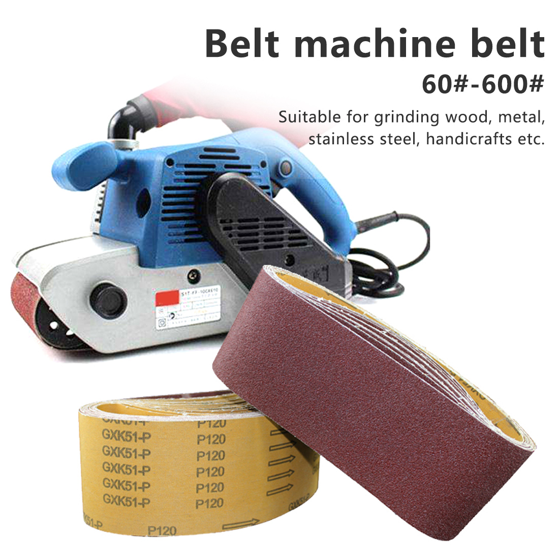 Sanding Belts Abrasive Sanding Screen Band For Wood Soft Metal Grinding Polishing P60 - P600 Grinding Polish Grinding Polis