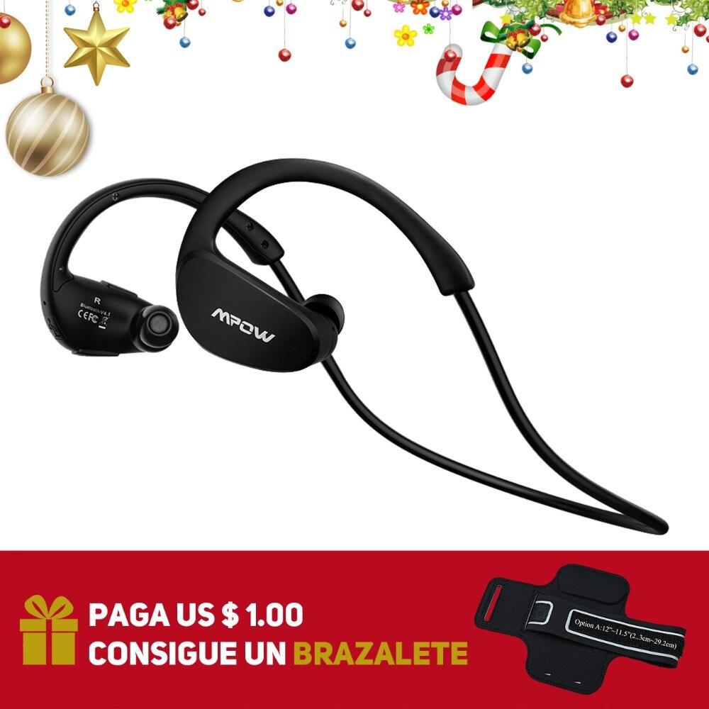 Mpow Cheetah MBH6 Drahtlose Bluetooth Kopfhörer Wasserdichte Drahtlose Kopfhörer Mit Mic AptX Funktion Sport Kopfhörer Für iPhone