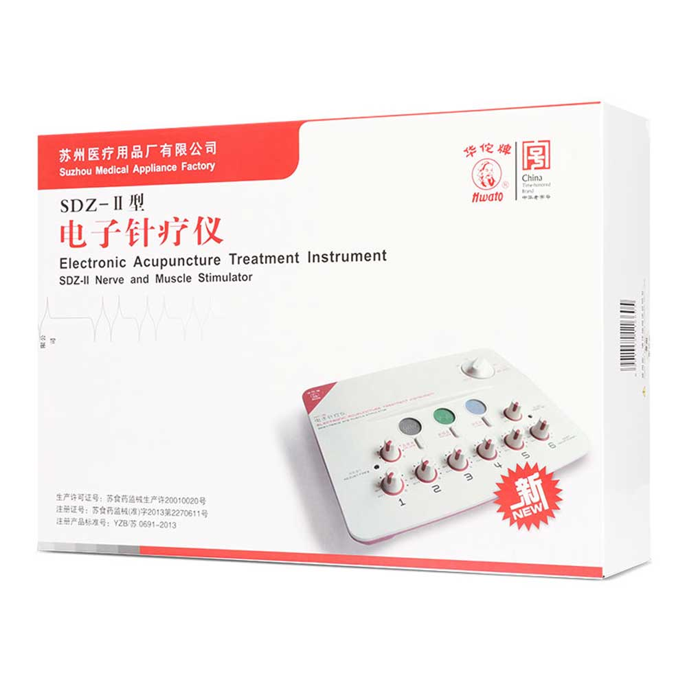 Electronic Acupuncture Treatment Instrument.SDZ-II Electric pulse muscle stimulator. TENS EMS Massage 12 pads for Migraine prostate patches prostatitis treatment and prevention perineum muscle stimulator