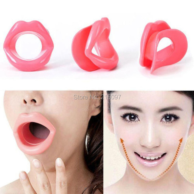 Big Mouth Silicone Slimming Face Up Slimmer Lip Trainer Oral Exerciser Mouthpiece body care Breathing loss weight fat burner 5