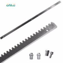 GALO cancello scorrevole motore cancello in acciaio zincato gear rail cremagliera 1 m per pc
