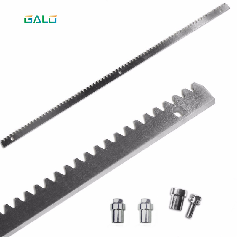GALO sliding gate motor gate galvanized steel gear rail rack 1m per pc factory cspy s1 new sliding gate motor