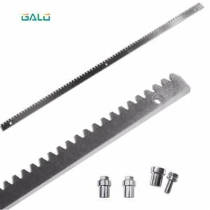 Image 1 - GALO sliding gate motor gate galvanized steel gear rail rack 1m per pc