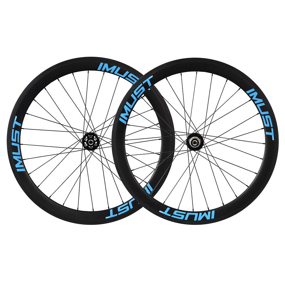 Углерода дисковые колеса clincher 50 мм 700C диск колесная u образный бескамерные DC50