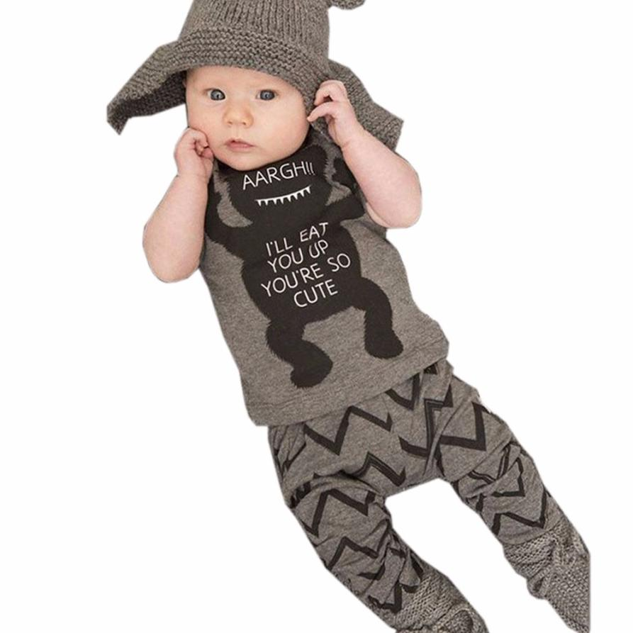2017 Cheap Baby Boy Clothes Baby Clothing Sets Cotton