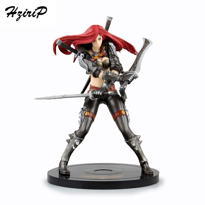 HziriP Hot Action Figures Toys LOL High Quality Statue Plastic Girl Sexy Birthday Doll Kids Gift Game Anime Model Toy New Hobby high quality anime lol pvc action figures lee sin the blind monk yasuo master yi figures model toys for boy s birthday gift