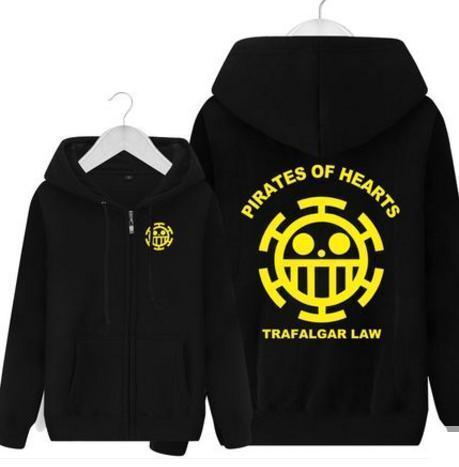 One Piece Of Trafalgar Law Hooded Hoodie