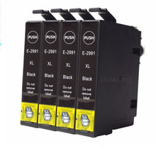 4x Black T2991-T2995 For 29XL Ink Cartridges Compatible with ink Expression Home XP-332 XP-335 XP-235 XP-432 XP-435 XP-245