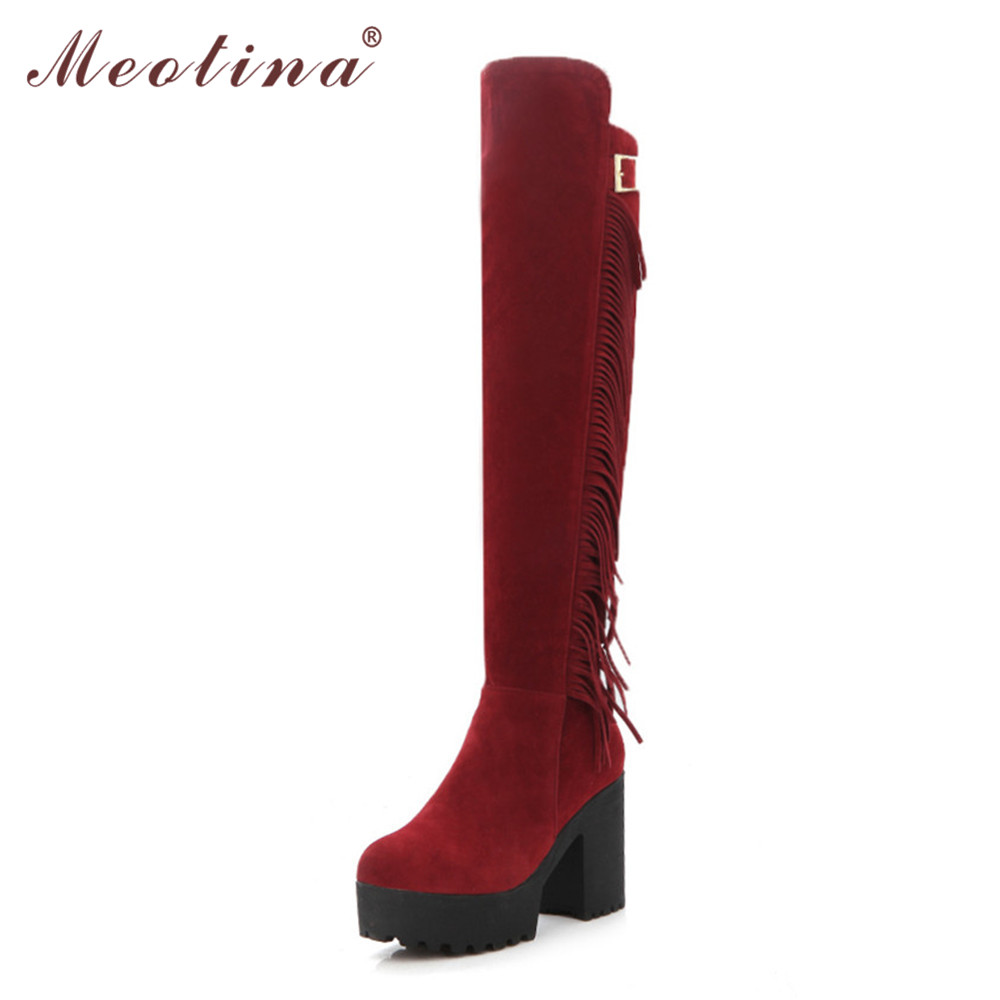 Thigh High Boots Size 9 - Yu Boots