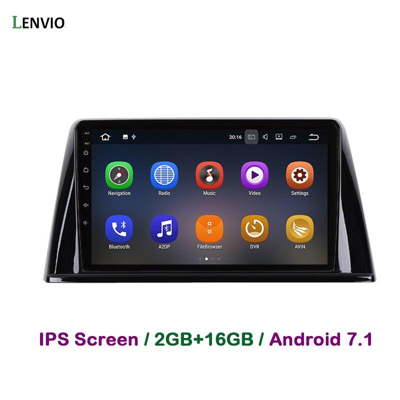 Lecteur DVD de voiture Lenvio 2 GB RAM Android 7.1 pour Peugeot 308 2016 2017 Radio stéréo GPS Navigation multimédia Quad Core WIFI BT IPS