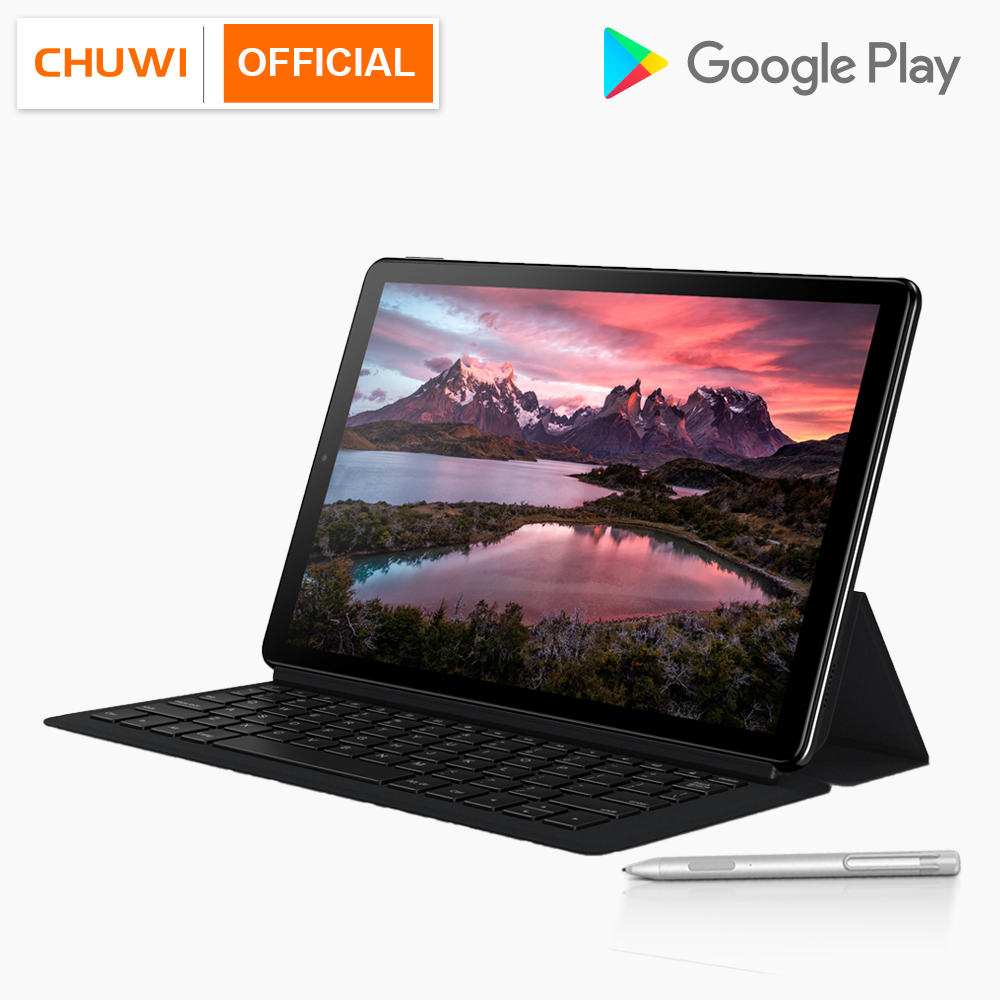 CHUWI Hi9 Plus 10.8 Inch 2560x1600 MTK 6797 X27 10 Core Android 8.0 Tablet PC 4GB RAM 64GB ROM Dual Camera 4G LTE 2 in 1 Tablets(China)