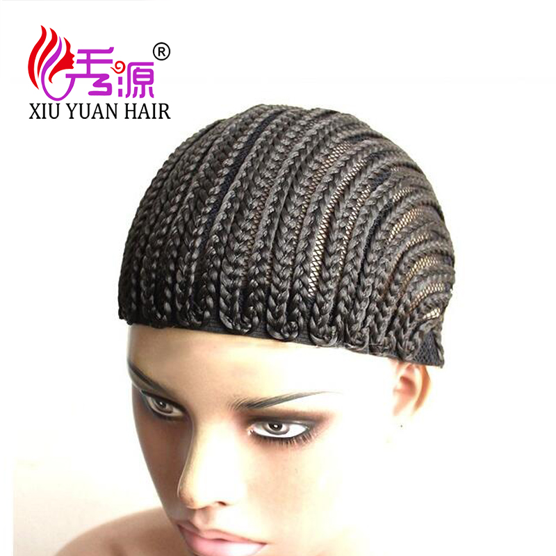 (1-9)Pcs Cornrows Wig Cap For Making Wig Easier Sew High Quality Braided Wig Cap For Glueless Lace Wig Mak