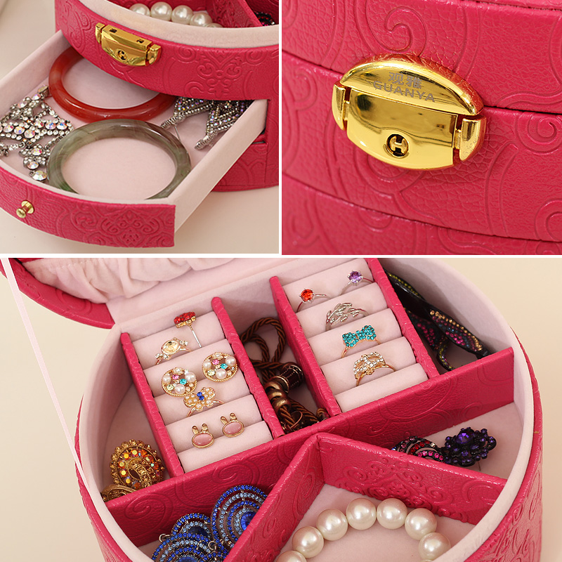 Aliexpresscom Buy Round boxes for jewelry storage case ring