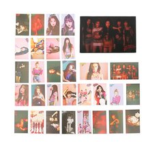 30pcs/set KPOP Red Velvet New Album Photo Card K-POP Self Made Paper Cards Photocard Stationery Card(China)