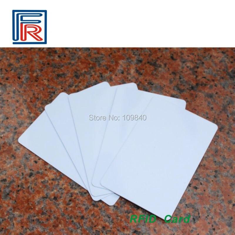 Купить с кэшбэком 200pcs/lot 860-960 mhz long distance / standard card passive rfid uhf gen2 CLASS 1 EPC iso18000-6c tag cards