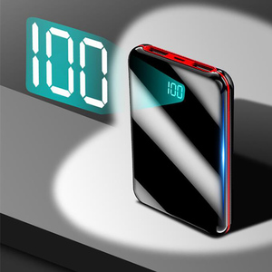 Image 3 - 10000mah mini power bank Tragbare USB Batteria Ladegerät power externe batterie pover bank für iPhone X Samsung xiaomi Huawei