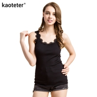 70 Silk 30 Cotton Women S Lace Tank Tops Femme Casual Sleeveless Women Sling Camis Female